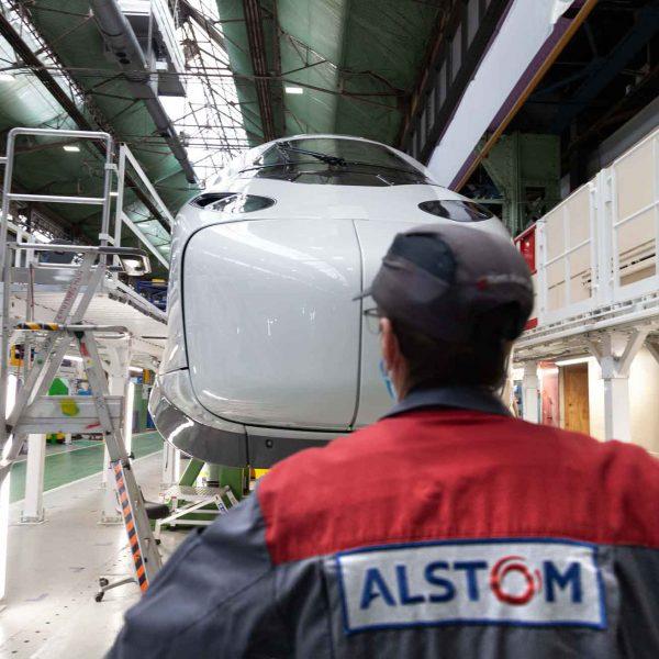 Reveal TGV-M Usine Alstom